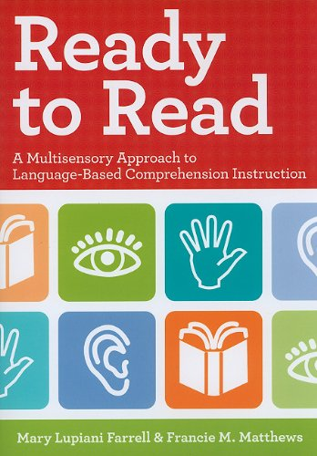 Ready to Read A Multisensory Approach to Language-Based Comprehension Instruction  2010 edition cover