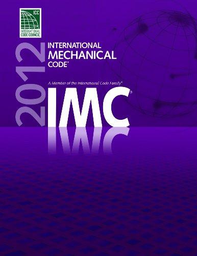 2012 International Mechanical Code   2011 edition cover