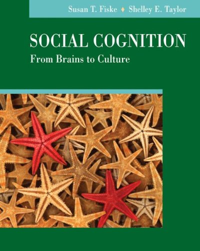 Social Cognition From Brains to Culture  2008 edition cover