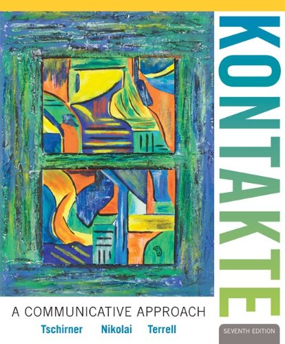 Workbook/Laboratory Manual for Kontakte  7th 2013 edition cover