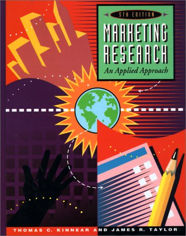 Marketing Research An Applied Approach 5th 1996 edition cover