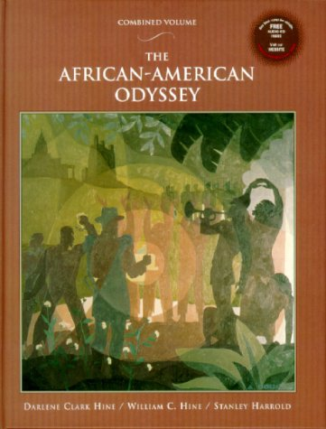 African-American Odyssey   2000 (Student Manual, Study Guide, etc.) 9780135718520 Front Cover