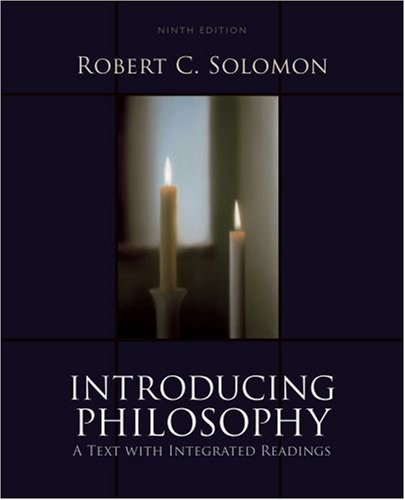 Introducing Philosophy A Text with Integrated Readings 9th 2008 edition cover