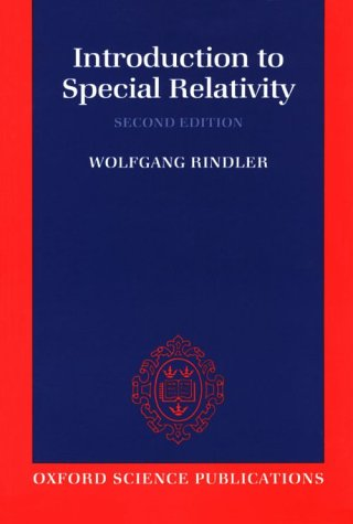 Introduction to Special Relativity  2nd 1991 (Revised) edition cover