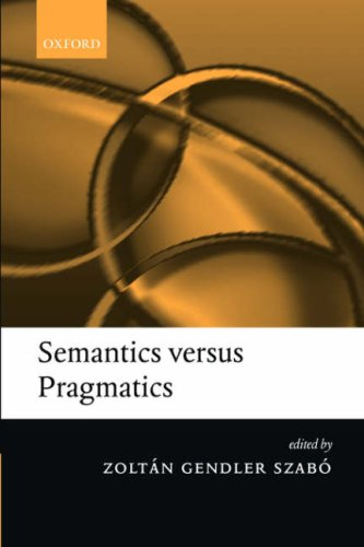 Semantics Versus Pragmatics   2004 edition cover
