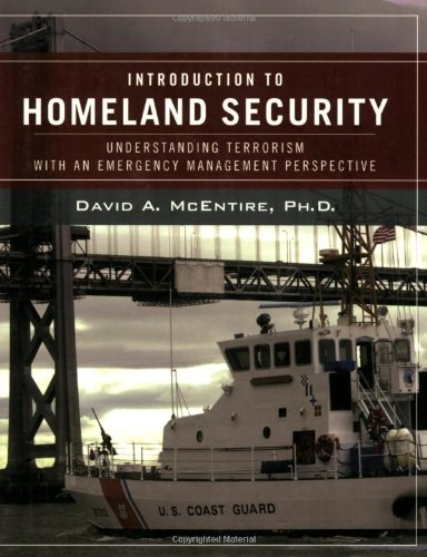 Introduction to Homeland Security Understanding Terrorism with an Emergency Management Perspective  2008 edition cover