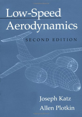 Low-Speed Aerodynamics  2nd 2001 (Revised) edition cover