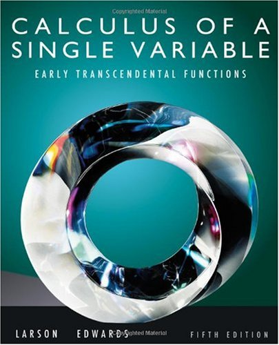 Calculus of a Single Variable Early Transcendental Functions 5th 2011 edition cover