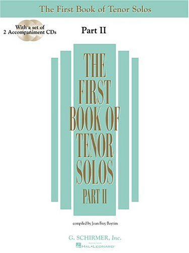 First Book of Tenor Solos  N/A edition cover