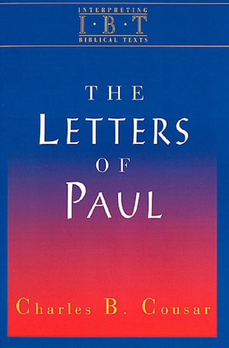 Letters of Paul  N/A 9780687008520 Front Cover