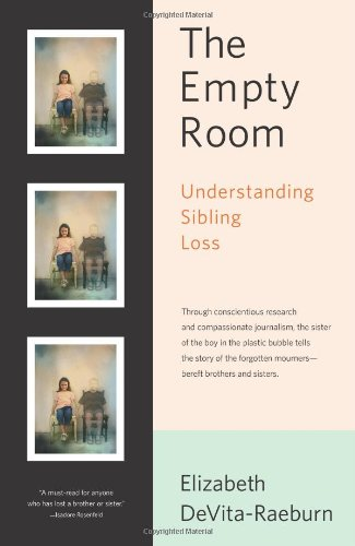 Empty Room Understanding Sibling Loss  2007 edition cover