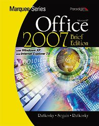 MARQUEE SER.:MS OFFICE 2007 BR N/A 9780763829520 Front Cover