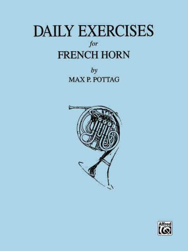 Daily Exercises French Horn   1985 edition cover
