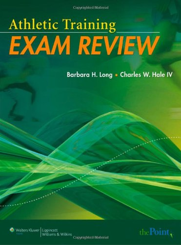 Athletic Training Exam Review   2009 (Student Manual, Study Guide, etc.) edition cover