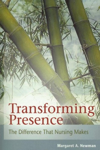 Transforming Presence The Difference That Nursing Makes  2008 edition cover