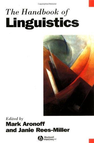 Handbook of Linguistics   2003 (Reprint) edition cover