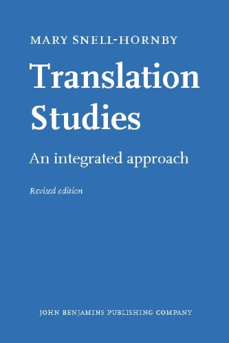 Translation Studies An Integrated Approach 2nd (Revised) edition cover