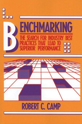 Benchmarking The Search for Industry Best Practices That Lead to Superior Performance  2006 edition cover