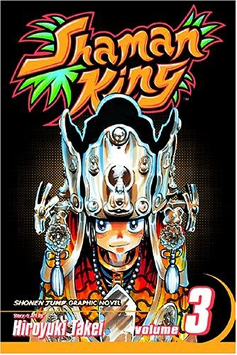 Shaman King, Vol. 3   2004 edition cover