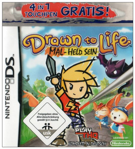 Drawn to Life: Mal-Held sein Nintendo DS artwork