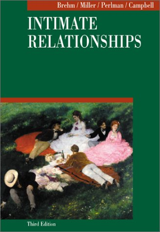 Intimate Relationships  3rd 2002 (Revised) edition cover