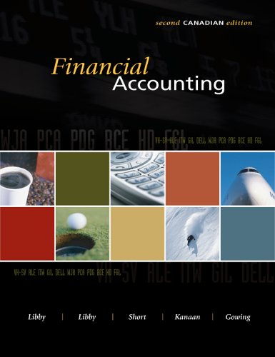 FINANCIAL ACCOUNTING >CANADIAN 2nd 2006 edition cover