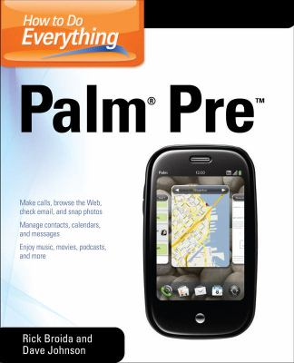 Palm Pre   2010 9780071639521 Front Cover