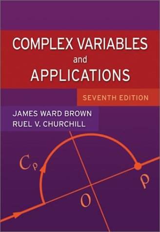 Complex Variables and Applications  7th 2004 (Revised) 9780072872521 Front Cover