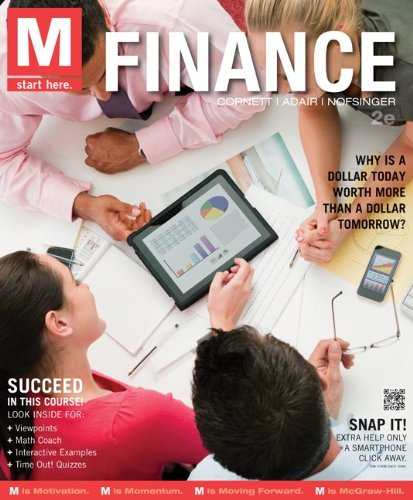 M: Finance with Connect Plus  2nd 2014 edition cover