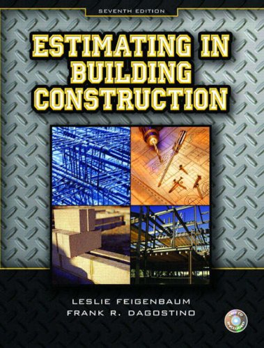 Estimating in Building Construction  7th 2011 edition cover