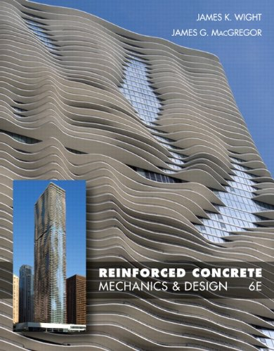 Reinforced Concrete Mechanics and Design 6th 2012 (Revised) edition cover