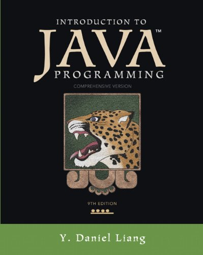 Introduction to Java Programming, Comprehensive Version  9th 2013 (Revised) edition cover