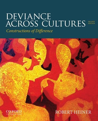 Deviance Across Cultures Constructions of Difference 2nd edition cover