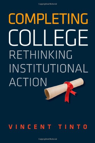 Completing College Rethinking Institutional Action  2012 edition cover