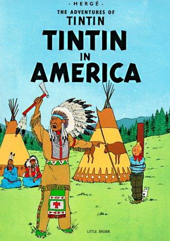 Tintin en Amerique   1973 edition cover