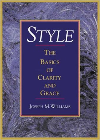 Style The Basics of Clarity and Grace  2003 edition cover