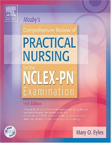 Mosbys Comprehensive Review for Practice Nursing Nclex-Pn  14th 2005 (Revised) edition cover