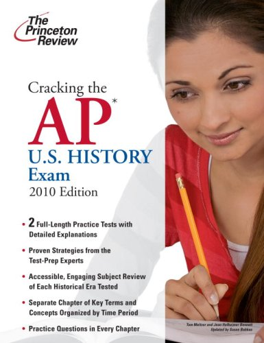 Cracking the AP U. S. History Exam 2010  N/A edition cover