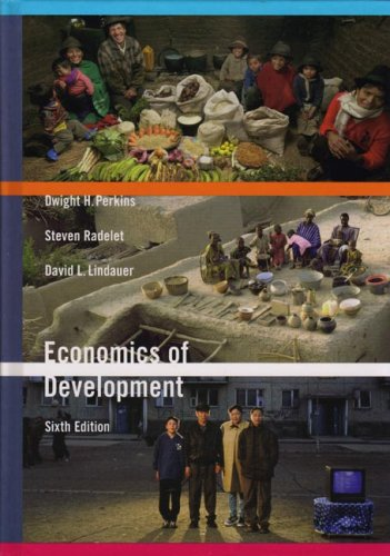 Economics of Development  6th 2006 edition cover