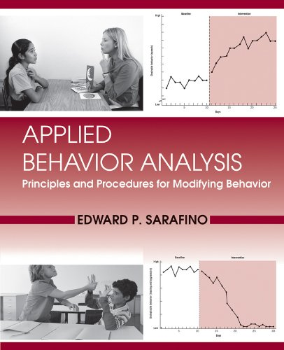 Applied Behavior Analysis Principles and Procedures in Behavior Modification  2012 edition cover