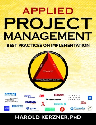 Applied Project Management Best Practices on Implementation  2000 9780471363521 Front Cover
