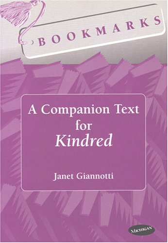 Bookmarks A Companion Text for Kindred  1999 9780472085521 Front Cover
