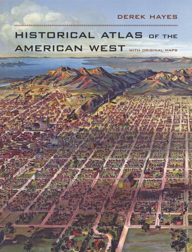 Historical Atlas of the American West   2009 edition cover