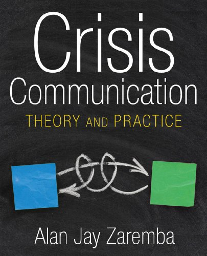 Crisis Communication Theory and Practice  2010 edition cover