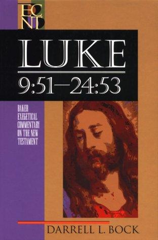 Luke 9:51-24:53 N/A edition cover