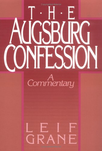 Die Confessio Augustana  N/A edition cover
