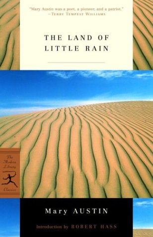Land of Little Rain   2003 edition cover