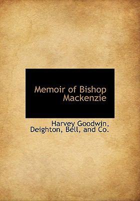 Memoir of Bishop MacKenzie N/A edition cover