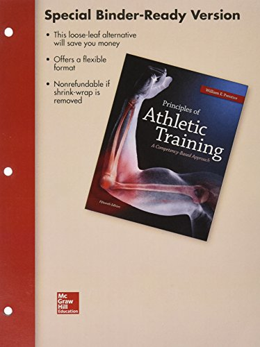 Looseleaf for Principles of Athletic Training: a Competency-Based Approach  15th 2014 9781259416521 Front Cover