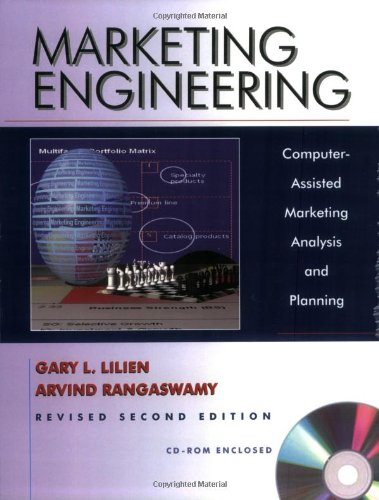 Marketing Engineering  2nd 2004 edition cover